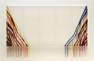 """함경아 (""""Abstract Weave - Morris Louis Untitled 1960"""" Courtesy of the artist and Kukje Gallery)"""