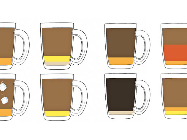 Types of kopitiam coffee
