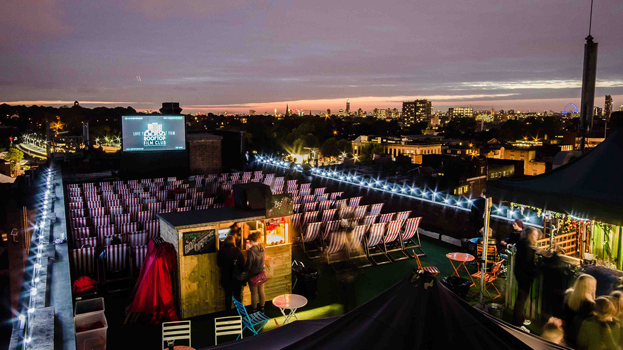 See a film under the stars