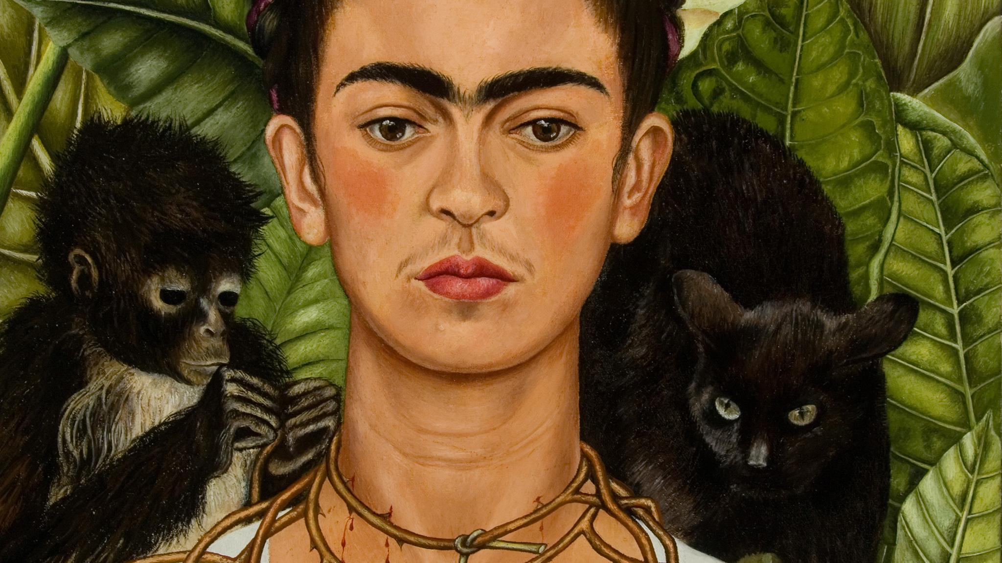 Frida Kahlo, CROPPED SPLASH