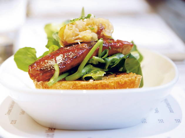 Michelin star restaurants in London - Barrafina