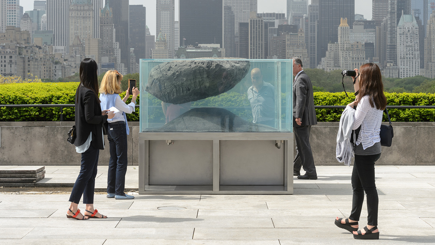 See photos of the Metropolitan Museum's new rooftop commission