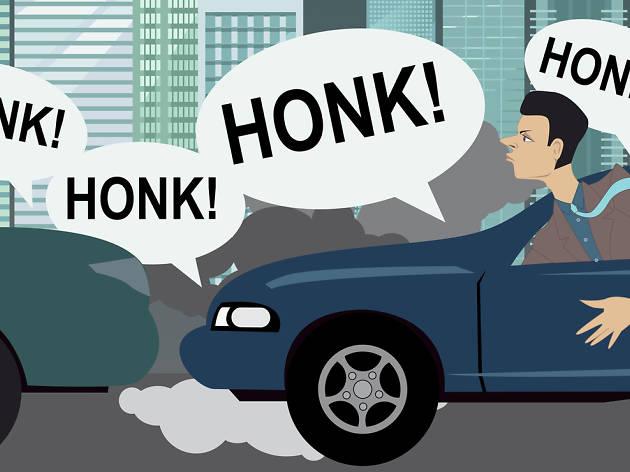 Honking traffic