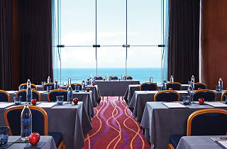 Meeting and events room with a sea view