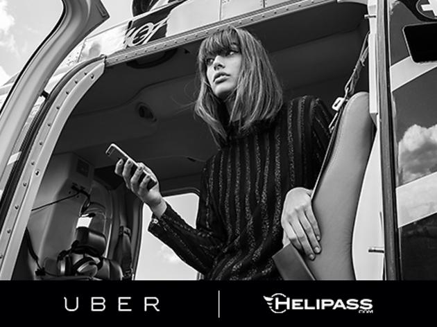 Un UberCOPTER au Festival de Cannes