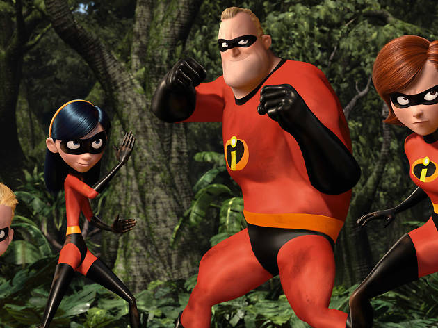 The Incredibles, superhero movies