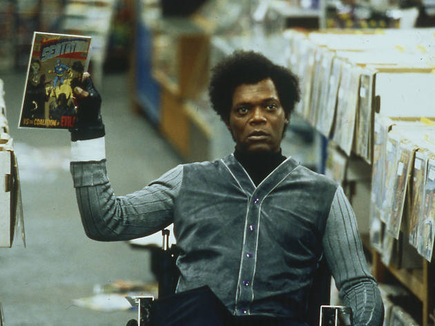 Unbreakable, superhero movies