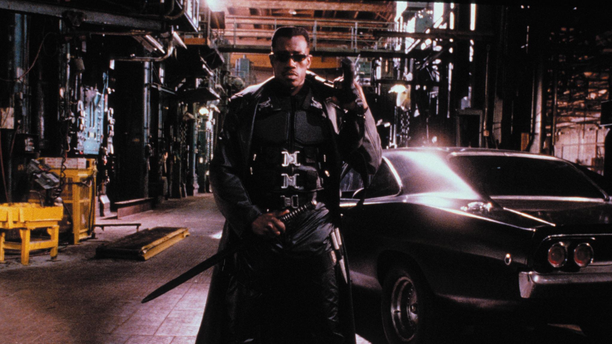 Blade, superhero movies