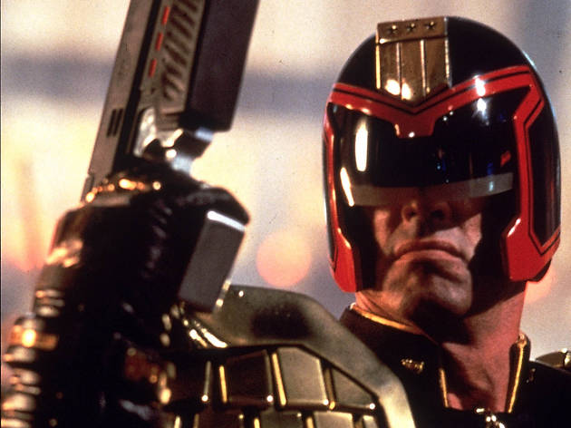 Judge Dredd, superhero movies