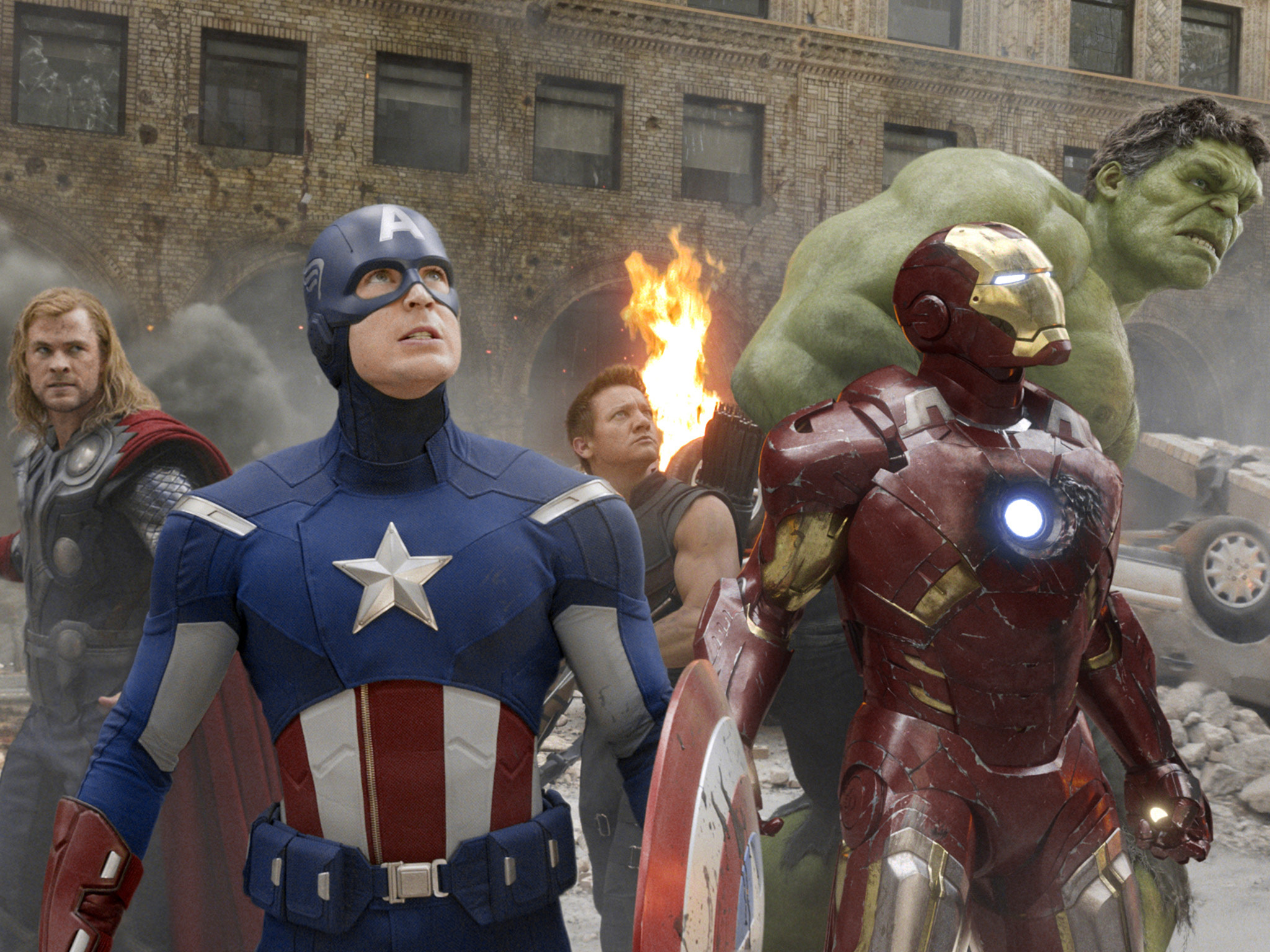 Avengers Assemble, superhero movies