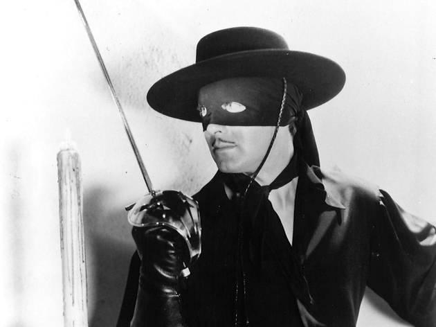 The Mark of Zorro, superhero movies