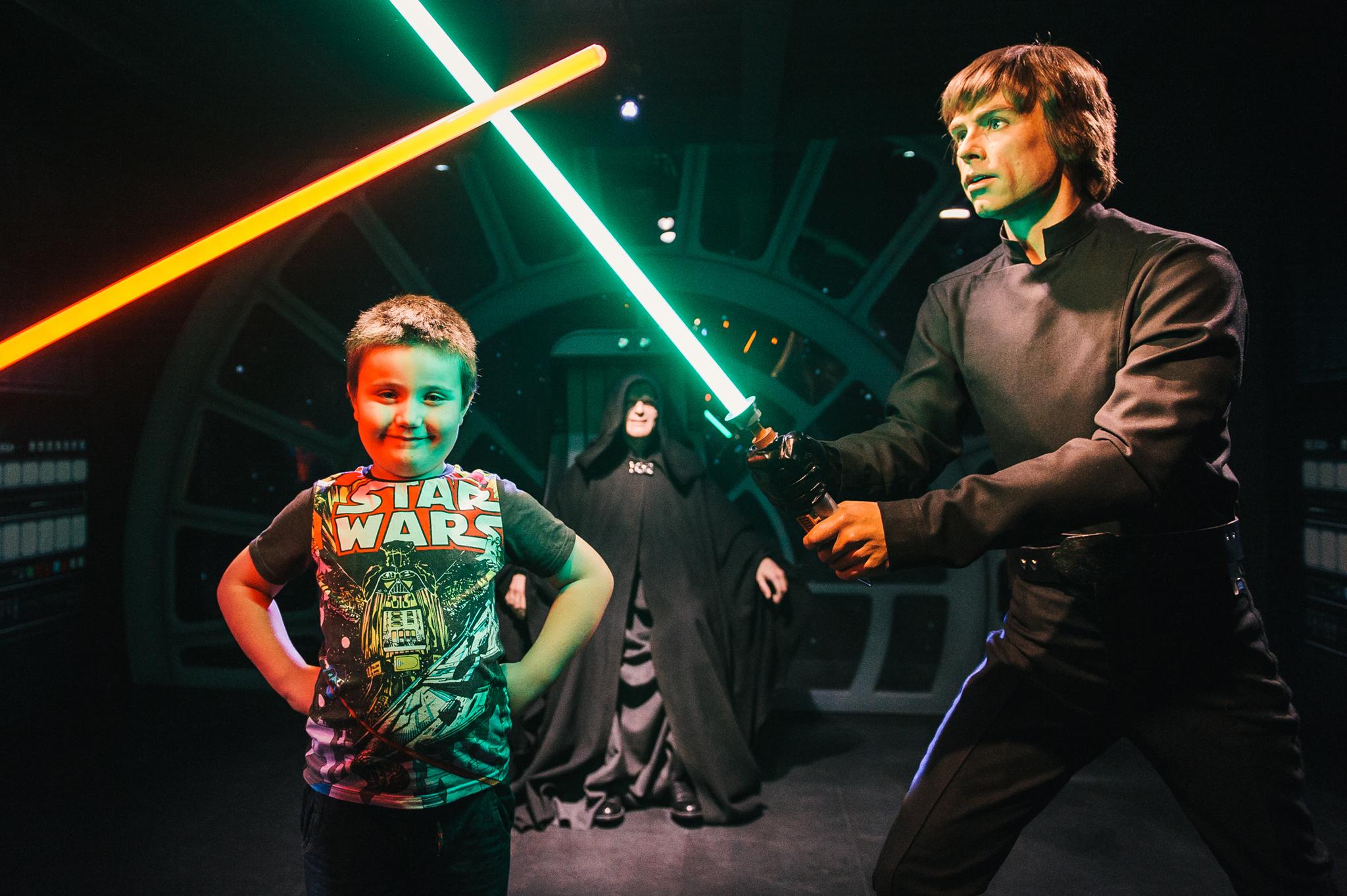 Star Wars at Madame Tussauds