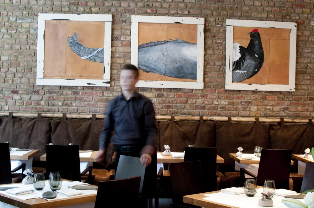 Michelin star restaurants in London - Hedone