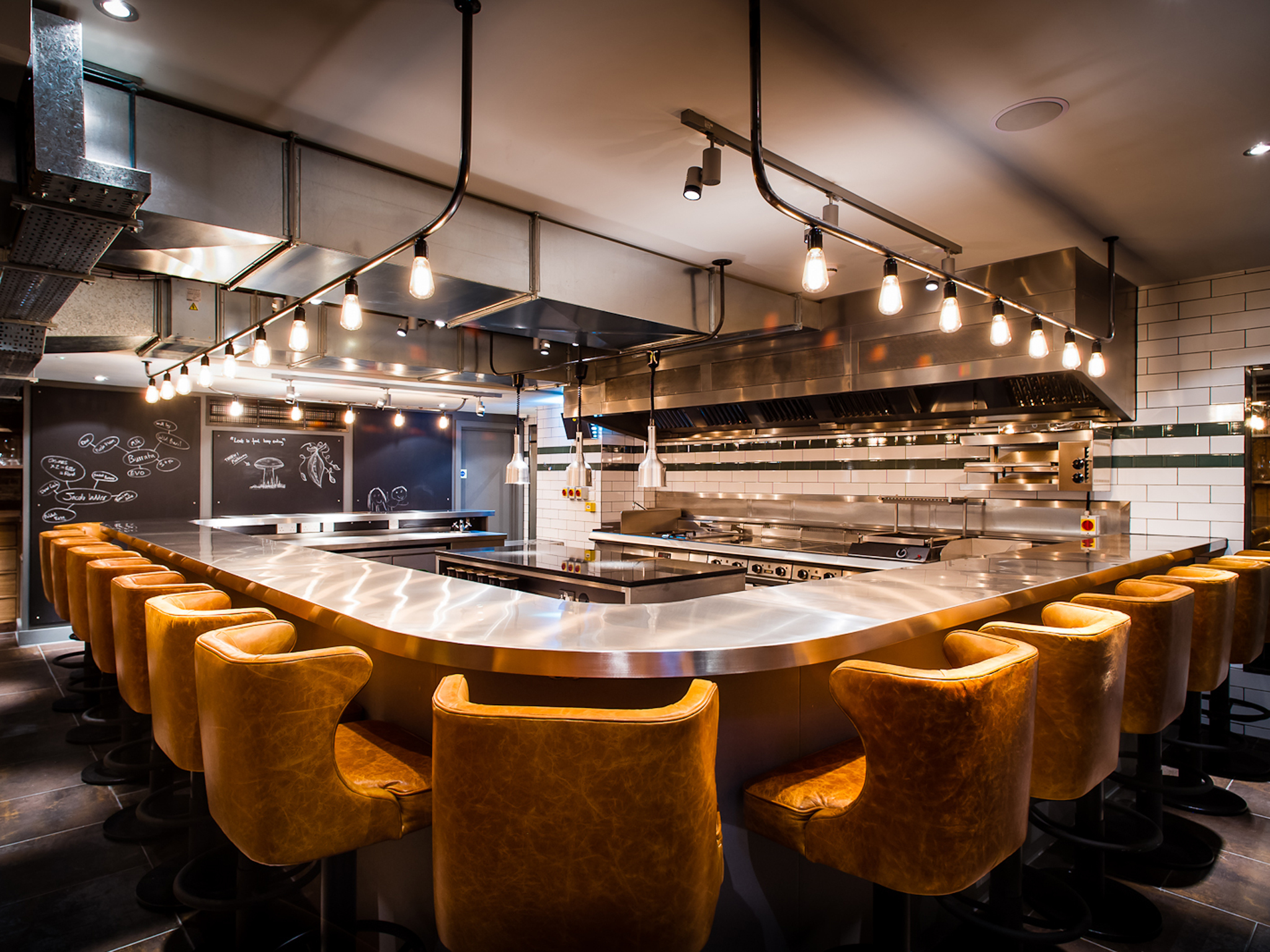 Michelin star restaurants in London - Kitchen Table