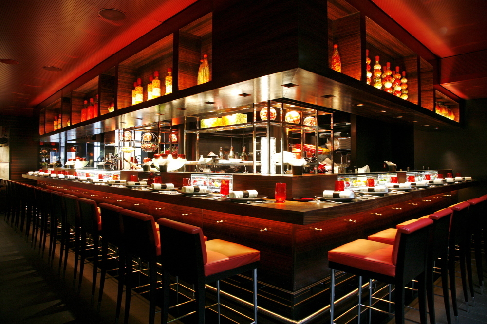 Michelin star restaurants in London - L'atelier de Joel Robuchon