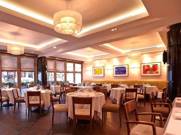 Michelin star restaurants in London - La Trompette