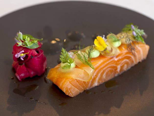 Michelin star restaurants in London - Pollen Street Social