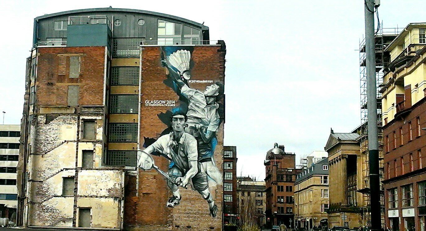 Glasgow street art Wilson Street