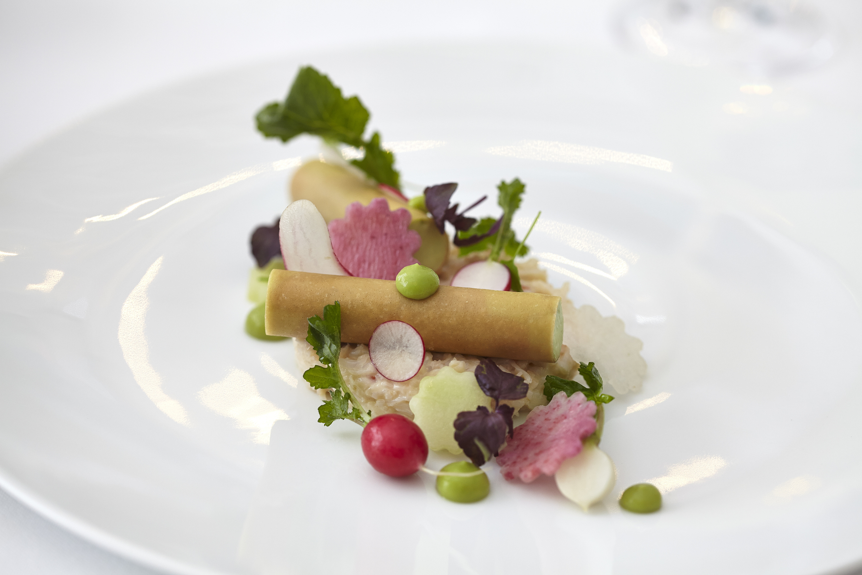 Michelin star restaurants in London - Helene Daroze at the connaught
