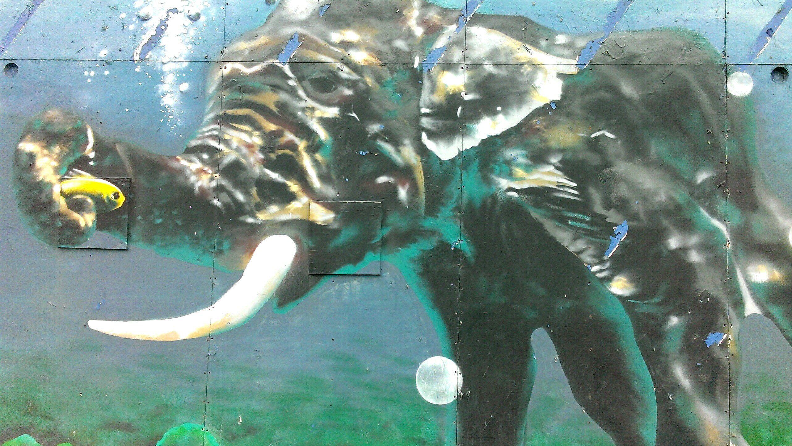Glasgow street art Clyde Street