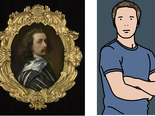 Artists in the Frame: Self-Portraits by Van Dyck and Others