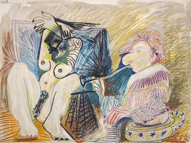 Picasso, Homme et Femme