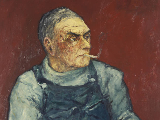 John Bellany, My Father, 1966