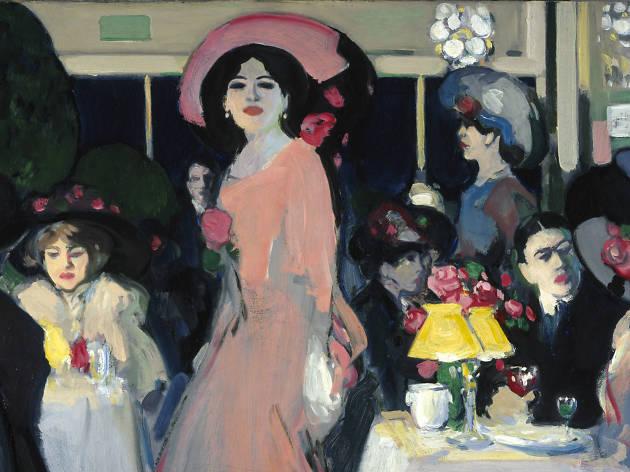 John Duncan Fergusson, 'La Terrasse, Café d'Harcourt', about 1908-1909
