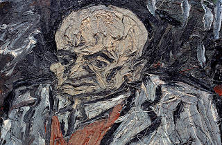 Leon Kossoff, Portrait of Father