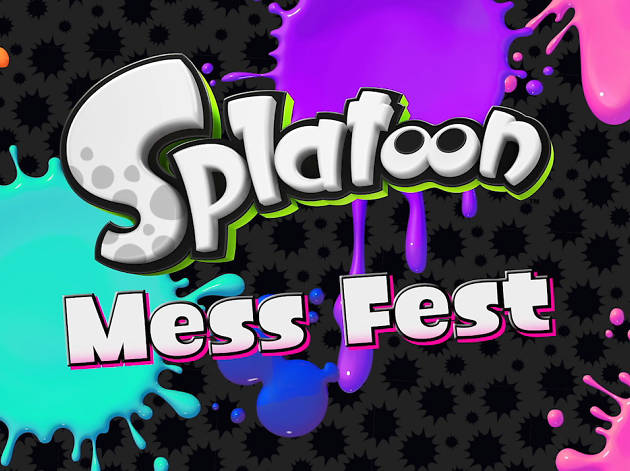 Splatoon Mess Fest