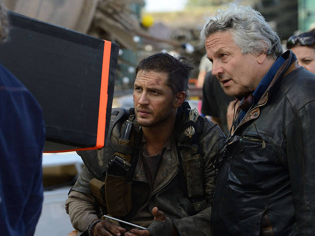 Actor Tom Hardy and director George Miller