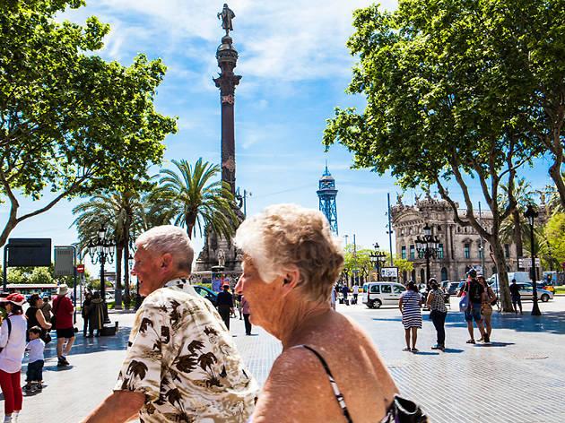 Guiris en Barcelona