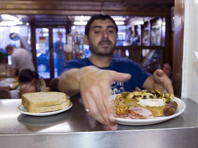 The best breakfasts in London - e pellicci