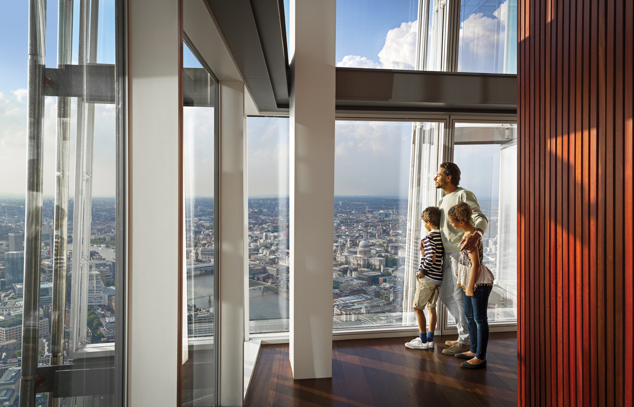 Father's Day at The View from The Shard
