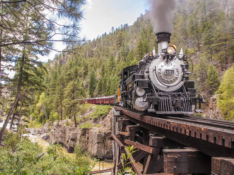 Durango to Silverton, CO: Narrow Gauge Railroad