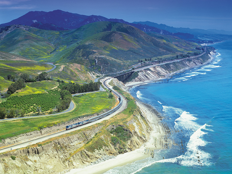 The most scenic train rides in America