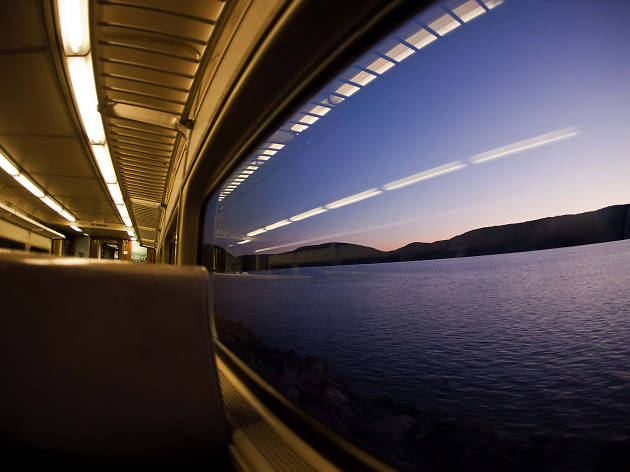 Amtrak's Ethan Allen Express, between NYC and Vermont