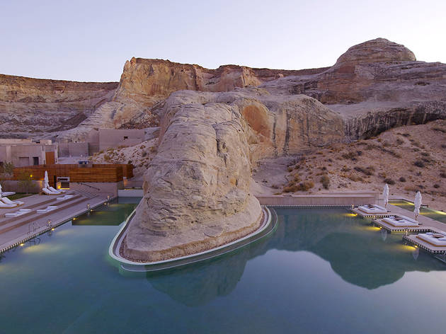 Most Hotels In America 1 Amangiri Canyon Point Utah