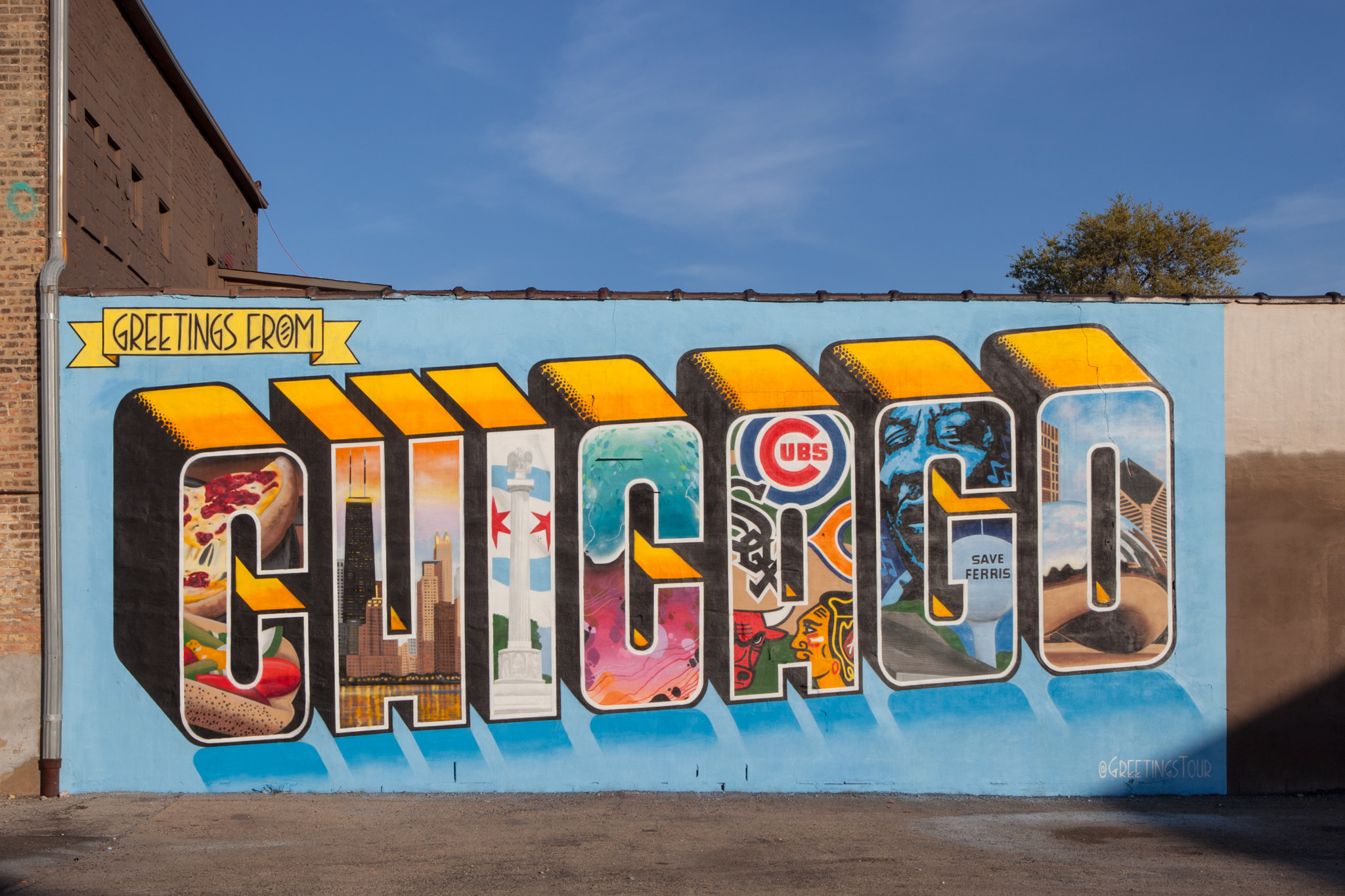 You need a picture of this awesome new chicago mural for Mural in chicago illinois