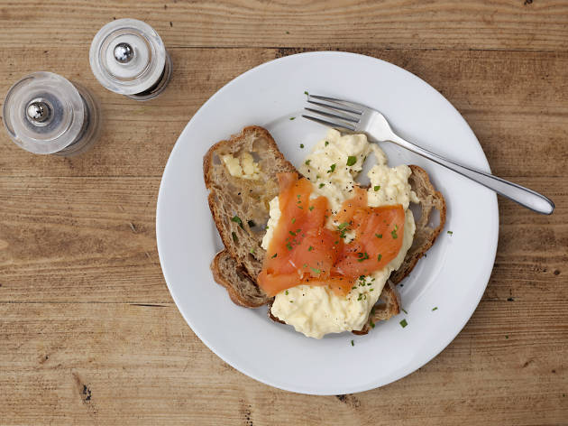 The best breakfasts in London - Lido Cafe