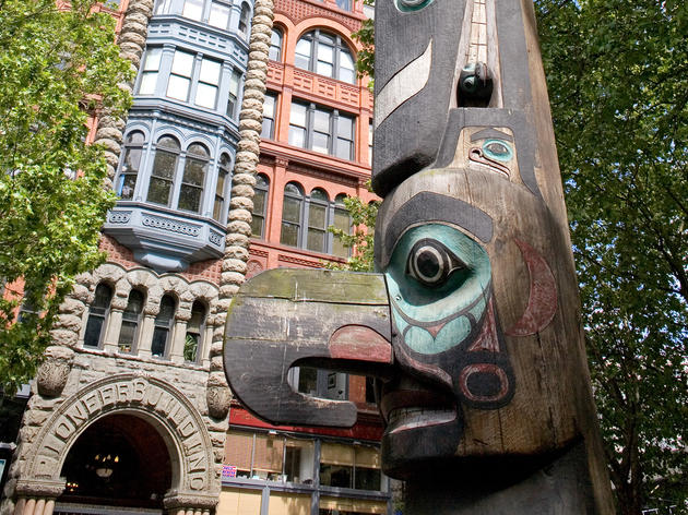 Stroll through Pioneer Square