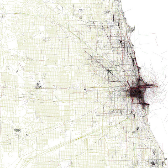 Where Chicago residents and tourists take photos – Tourist Map Of Chicago