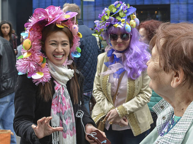 April 7, Easter Bonnet Parade