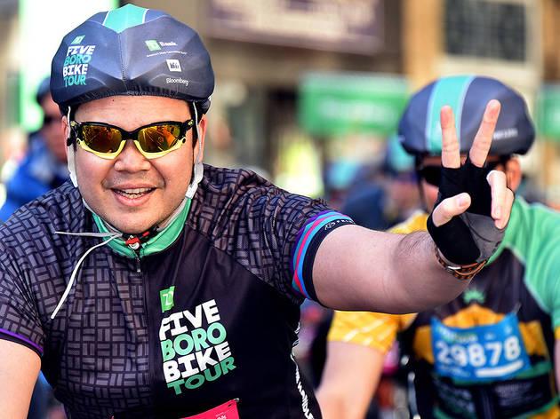 TD Five Boro Bike Tour