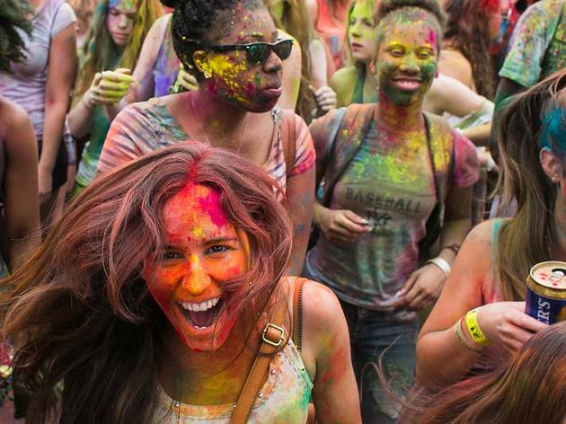 May 9, Festival of Colors: Holi NYC at C-PAC