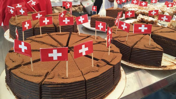 El pastel de chocolate (Foto: Gil Camargo)