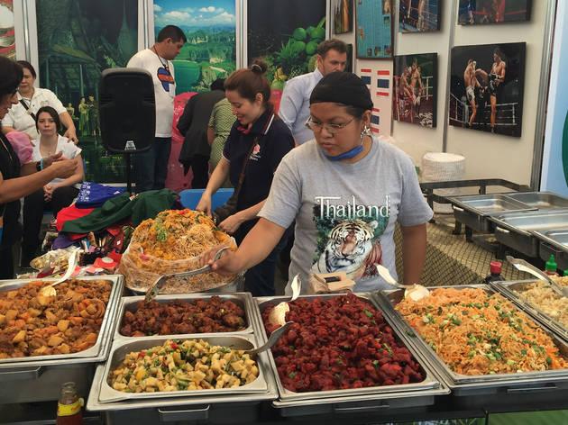 Comida tailandesa  (Foto: Gil Camargo)