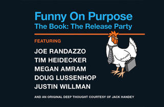 Funny On Purpose: The Book: The Release Party