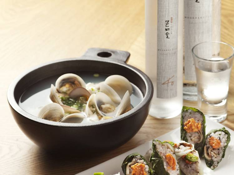 Where to drink traditional Korean alcohol in Seoul