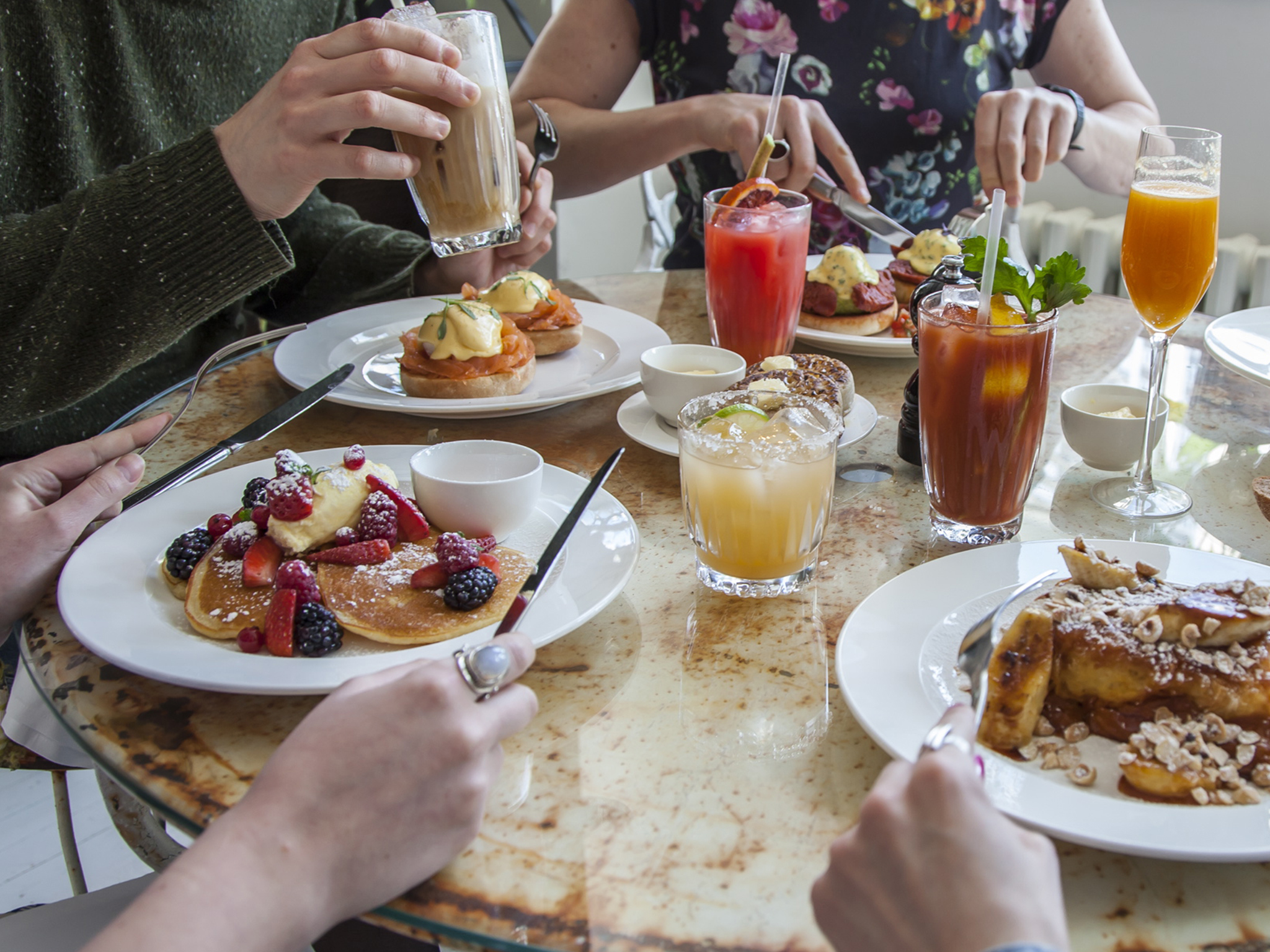 The top 10 brunches in London, Bourne & Hollingsworth Buildings